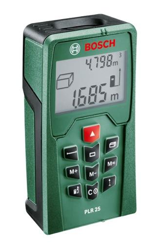 Měřič laserový Bosch PLR 25