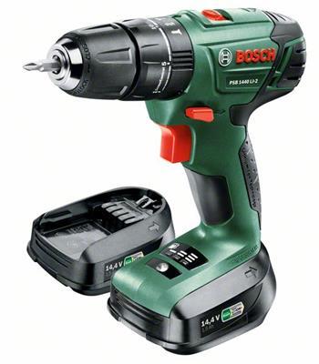 Bosch PSB 1440 LI-2, 2 aku