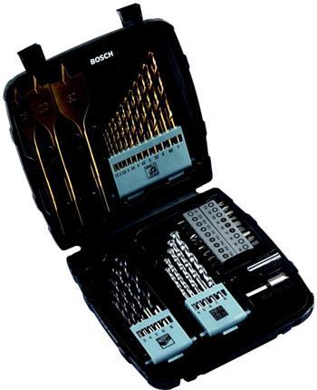 Sada vrtáků a bitů Bosch 45- dílná; 3165140416320