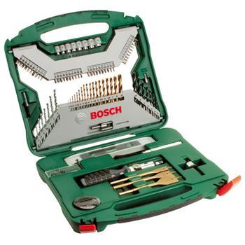 Sada nářadí Bosch 100 dílná X-Line titan; 2607019330