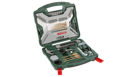 Sada nářadí Bosch 103 dílná X-Line titan; 2607019331