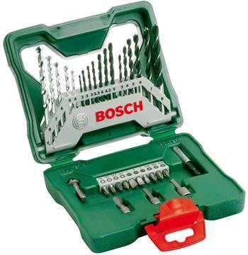 Sada vrtáků a bitů Bosch 33 dílná X-Line; 2607019325