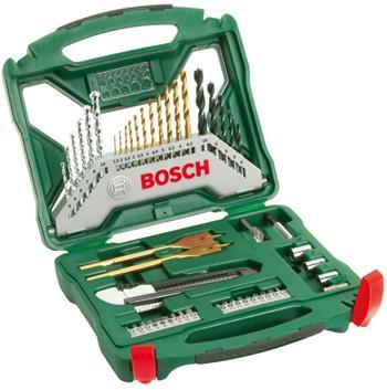 Sada nářadí Bosch 50 dílná X-Line titan; 2607019327