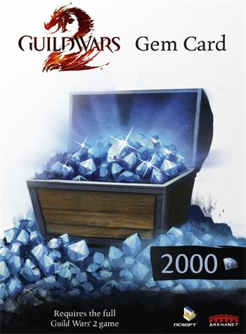 PC Guild Wars 2 Gem Card