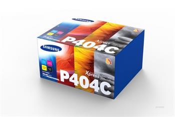 Samsung CLT-P404C/ELS - C / M / Y / K Rainbow Toner Kit; CLT-P404C/ELS