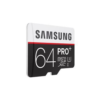 Samsung Micro SDXC 64GB Pro PLUS Class 10; MB-MD64DA/EU