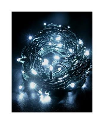 Solight řetěz LED, 500 LED, 50m, přívod 5m, IP44, bílá; 1V05-W
