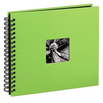 Hama album klasické spirálové FINE ART 28x24 cm, 50 stran, kiwi