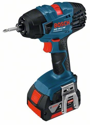 Bosch GDR 18 V LIBOSCH GDR 18 V-LI MF Professional - Akumulátorový rázový utahovák; 06019A1004