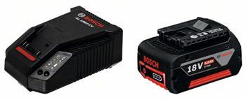 Akumulátorové nářadí základní souprava - GBA 18 V 4,0 Ah M-C + AL 1860 CV; 1600Z00043