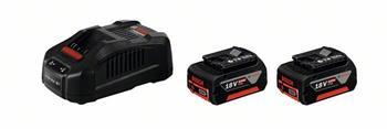 Bosch Startovací sada 2x GBA 18 V 6,0 Ah M-C + GAL 3680 CV; 1600A00500