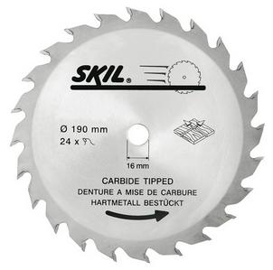 Skil - Pilový kotouč, 190 mm / 16 mm, 24 zubů; 2610373173