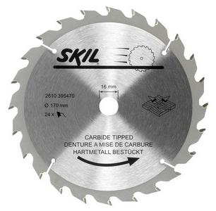 Skil - Pilový kotouč, 170 mm / 16 mm, 24 zubů ; 2610395470