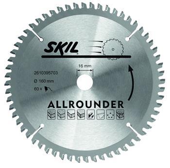 Skil - Pilový kotouč, 160 mm / 16 mm, 60 zubů ; 2610395703
