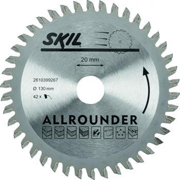 Skil - Pilový kotouč, 130 mm / 20 mm, 42 zubů; 2610399267