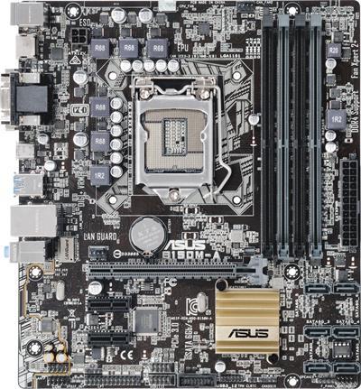 ASUS B150M-A soc.1151 - základní deska; 90MB0P40-M0EAY0