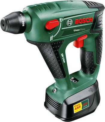 Bosch Uneo Maxx - 3v1 aku kladivo, vrtačka, šroubovák 2,0 Ah; 0603952323