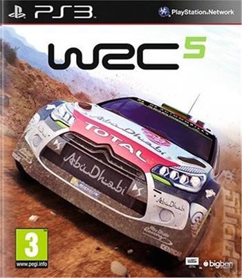 PS3 WRC 5; 3499550344714