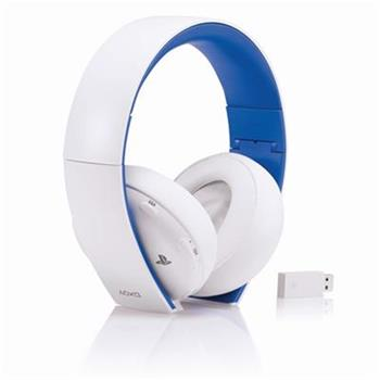 PS4 Wireless Stereo Headset 2.0 - WHITE; PS719856634