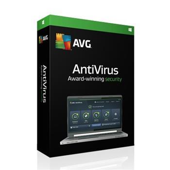 AVG Prodloužení Anti-Virus 2016 , 1 lic. (24 měs.) RK Obálka