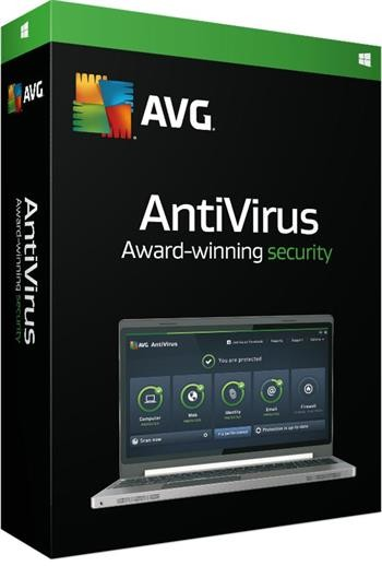 AVG Anti-Virus 2016 OEM, 1 lic. (12 měs.) SN DVD