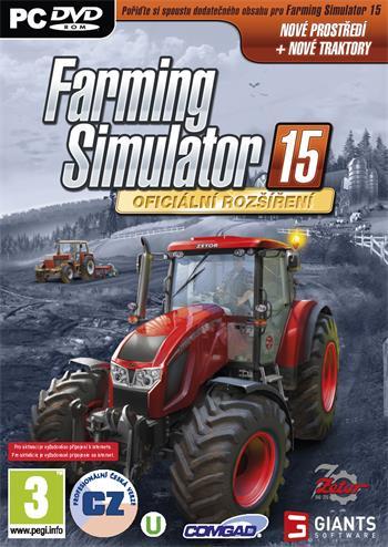 PC Farming Simulator 2015 - Oficiální rozšíření Zetor
