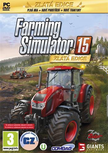 PC Farming Simulator 2015 - Zlatá edice