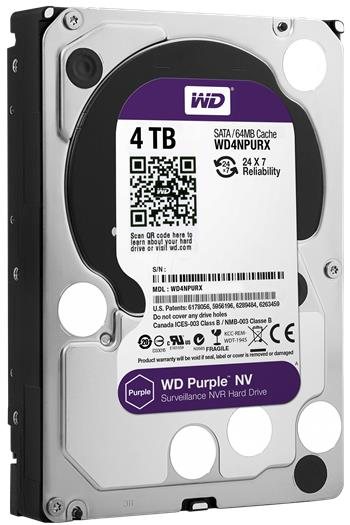 Western Digital Purple NV 4TB