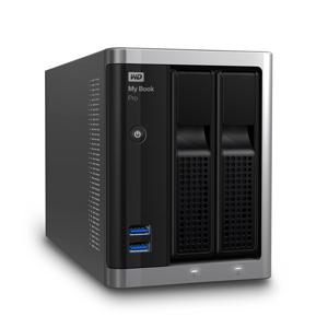 "WD My Book Pro 10TB Ext. 3.5"" USB3.0,Thunderbolt (dual drive) RAID - Externí HDD"