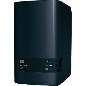 """WD My CLOUD EX 2, 10 TB (2x5TB) 3,5"""", RJ45, NAS - Externí HDD; WDBVKW0100JCH-EESN"""