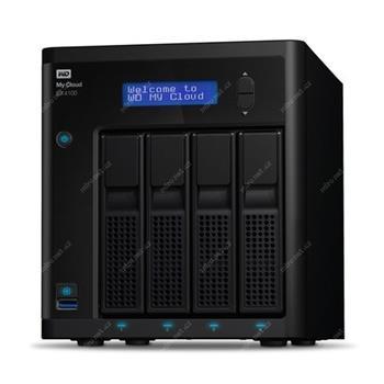 """WD My CLOUD EX 4100, 16 TB (4x4TB) 3,5"""", RJ45, NAS - Externí HDD; WDBWZE0160KBK-EESN"""