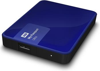 "WD My Passport ULTRA 3TB Ext. 2.5"" USB3.0, Blue - Externí HDD; WDBBKD0030BBL-EESN"