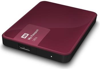 "WD My Passport ULTRA 3TB Ext. 2.5"" USB3.0, Berry - Externí HDD"