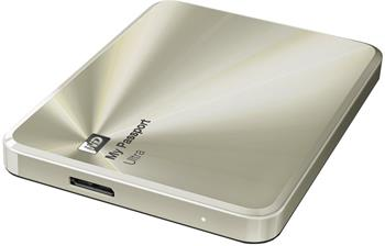 "WD My Passport ULTRA METAL 1TB Ext. 2.5"" USB3.0, Gold - Externí HDD"