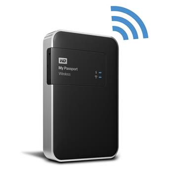 "WD My Passport Wireless 500GB Ext. 2.5"" USB3.0, Black - Externí HDD; WDBLJT5000ABK-EESN"