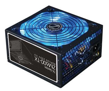 Zalman ZM600-TX 600W 80+ ATX12V 2.3 PFC 12cm fan zdroj; ZM600-TX