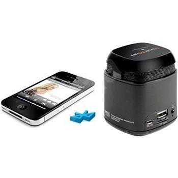 Přenosný Bluetooth a NFC reproduktor Makro Technaxx Mini MusicMan, baterie 600 mAh, černý (NFC-X6)