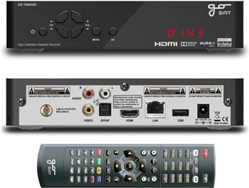 GoSAT GS7060 HDi - satelitní přijímač; GS7060