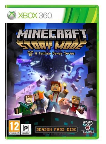 X360 Minecraft: Story Mode ; 5060146462525