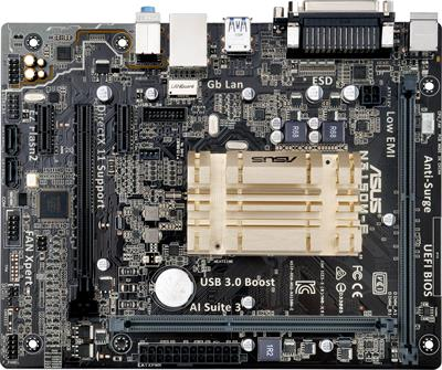 ASUS N3150M-E, Intel® Celeron® Quad-Core N3150 - základní deska