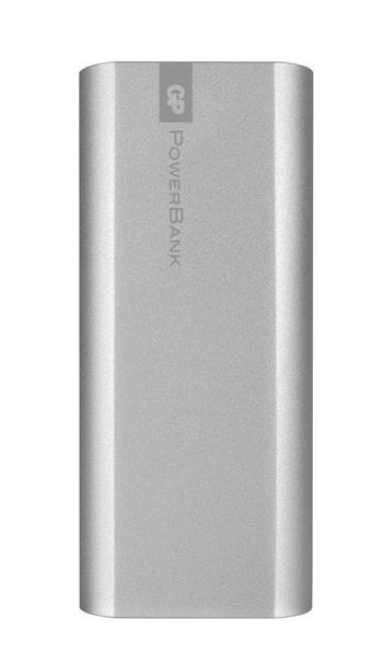 Power bank GP FN05M 5200mAh stříbrný; 1604389300
