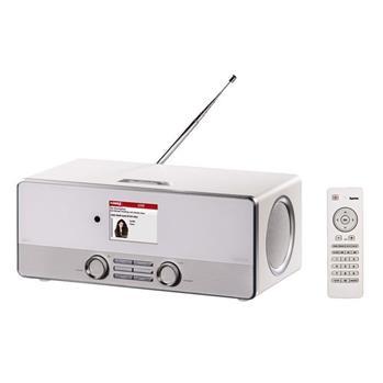 Hama digitální rádio DIR3110, DAB+, internetové rádio, FM rádio, bílé; 54824
