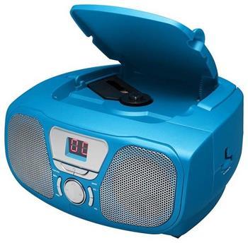 Bigben CD46 STICK - modrý - přenosné rádio s CD a USB