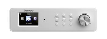 Lenco KCR 2014 - Internetové rádio i s FM tunerem a možností zavěšení pod kuchyňskou linku; lkcr2014