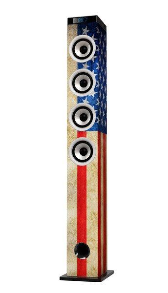 ICES IBT 5 vlajka USA - systém s Bluetooth; libt5uf