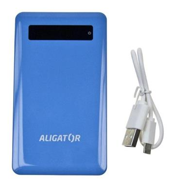 POWER BANK ALIGATOR slim 4000mAh blue