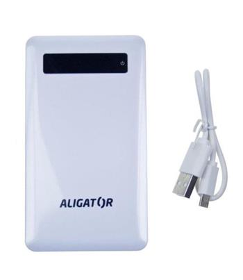 POWER BANK ALIGATOR slim 4000mAh white