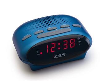 ICES ICR-210 - modrý - radio budík Lenco; licr210bl