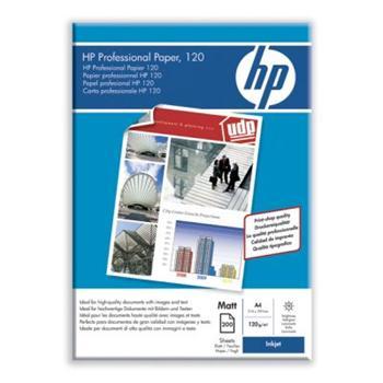HP Q6593A Professional Inkjet Paper Matte - papír matný, A4, 120g/m2, 150 listů