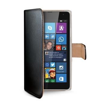 Pouzdro CELLY Wally Microsoft Lumia 535 černé